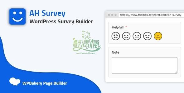 WordPress投票插件 - AH Survey v1.4(汉化) WordPress插件 第1张