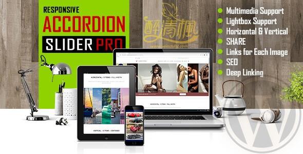 WordPress幻灯片插件 – Accordion(手风琴)Slider v1.0(汉化) WordPress插件 第1张