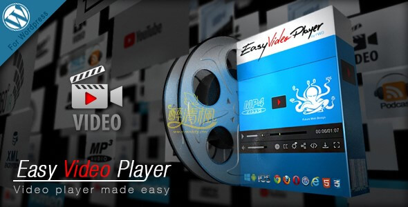 WordPress视频播放插件 - Easy Video Player v8.0(汉化) 第1张