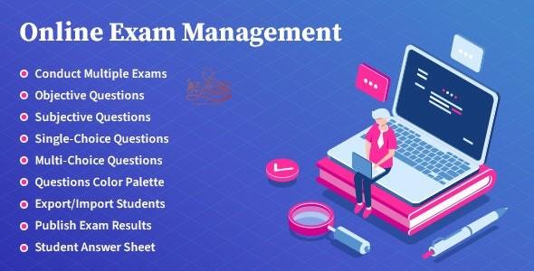 Wordpress在线考试管理插件 - Online Exam Management(汉化)[更新至v2.6] WordPress插件 第1张