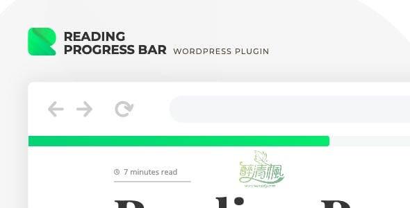 WordPress阅读进度条插件 - Rebar(汉化)[更新至 v1.0.2] WordPress插件 第1张