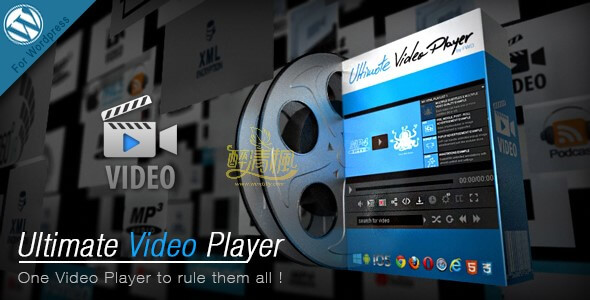 WordPress视频播放器插件 - Ultimate Video Player(汉化)[更新至v8.0] WordPress插件 第1张