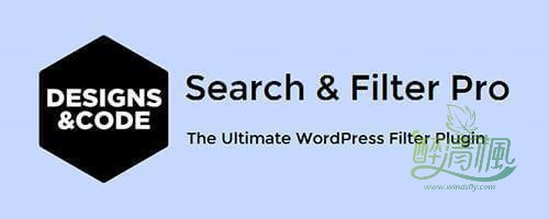 WordPress搜索筛选过滤插件 - Search&Filter Pro(汉化)[更新至v2.5.3] WordPress插件 第1张