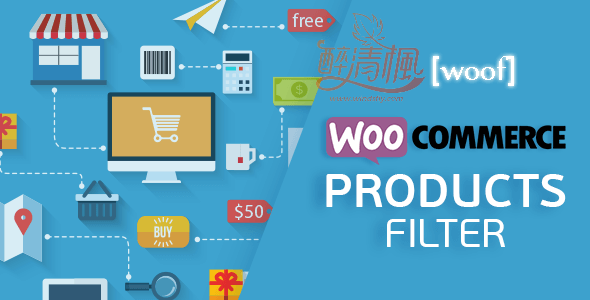 Woocommerce商品搜索筛选过滤插件 - WOOF Pro(汉化)[更新至 v2.2.5.1] WooCommerce插件 第1张