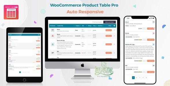 Woocommerce商品列表视图插件 - Product Table Pro(汉化)[更新至v6.0.16] WooCommerce插件 第1张