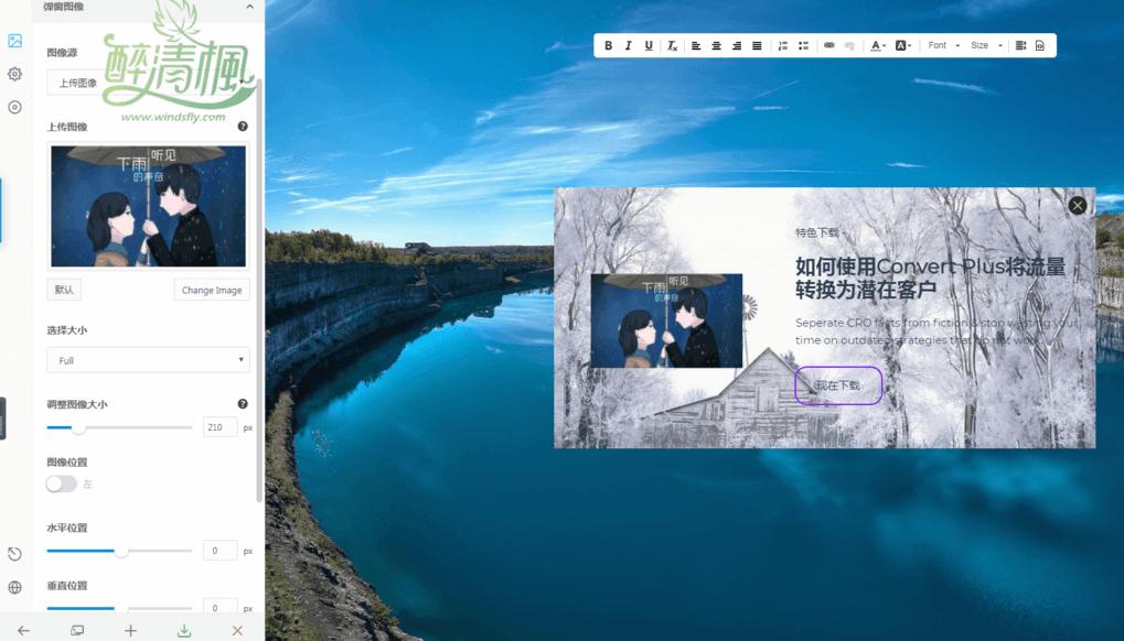 WordPress弹窗插件 - Convert Plus(汉化)[更新至v3.5.4] WordPress插件 第2张